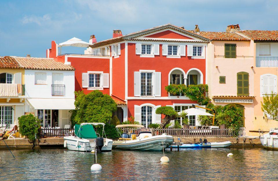 Apartmány a domy v Port Grimaud