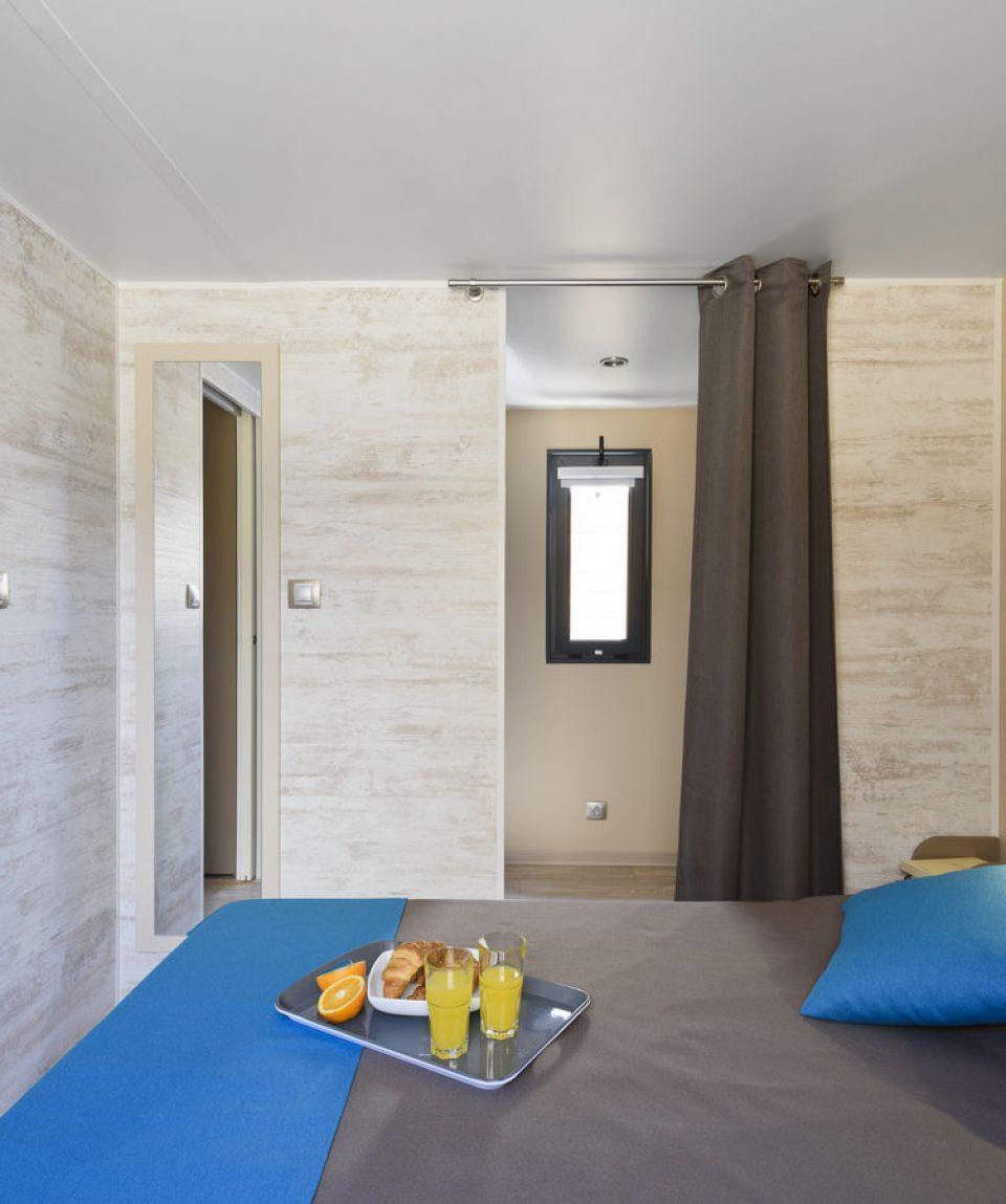 Mobilný dom FARE PREMIUM spálňa