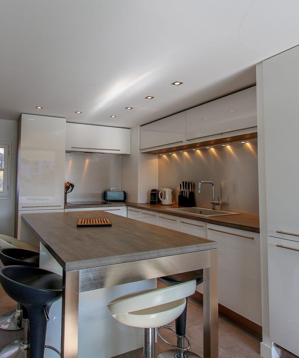 Apartmán A47 kuchyňa
