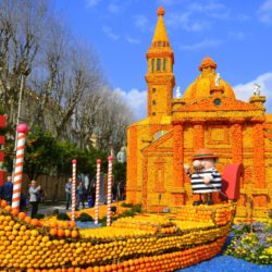 Festival citrónov v Mentone